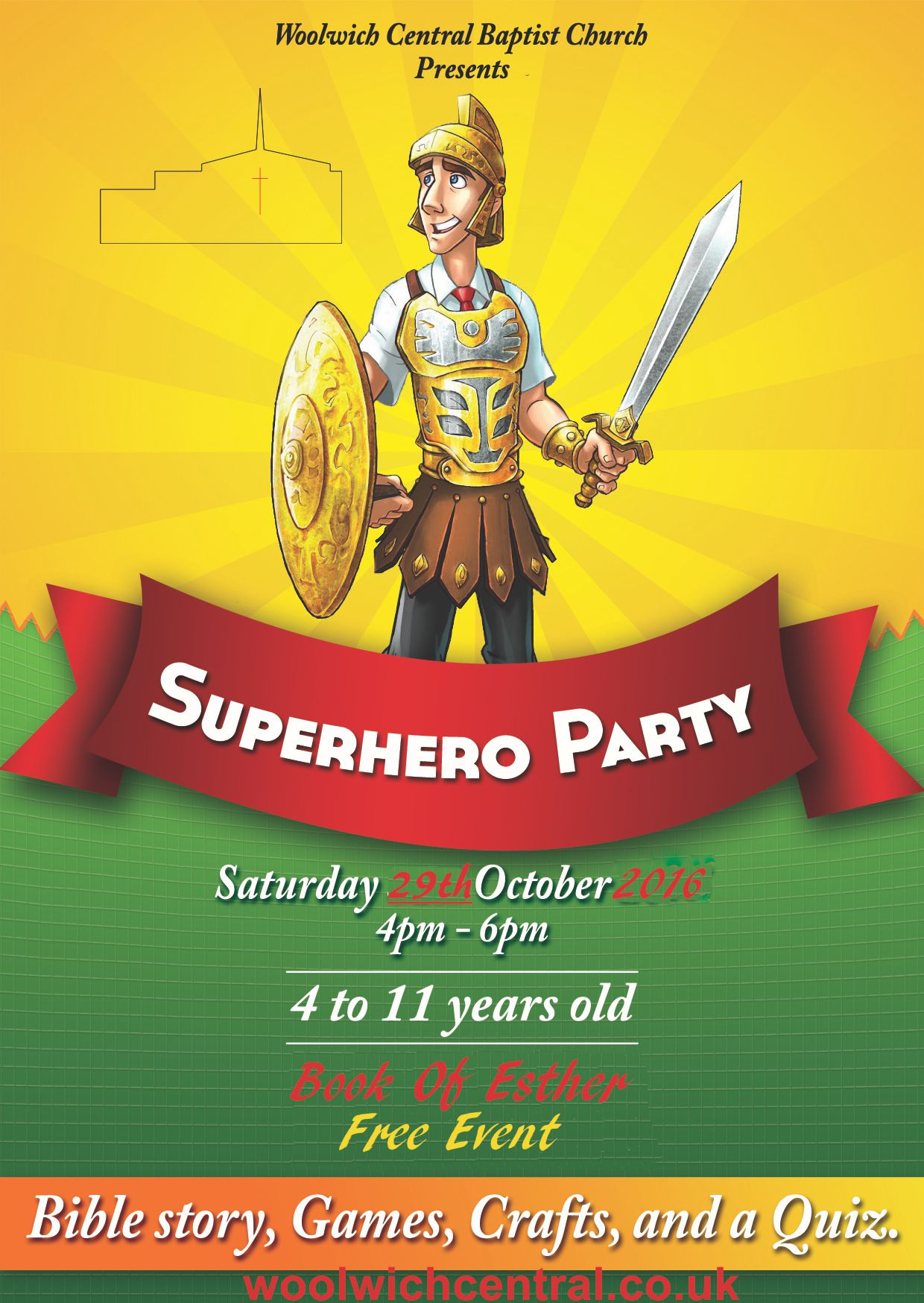 Super Hero Party: Anti Halloween